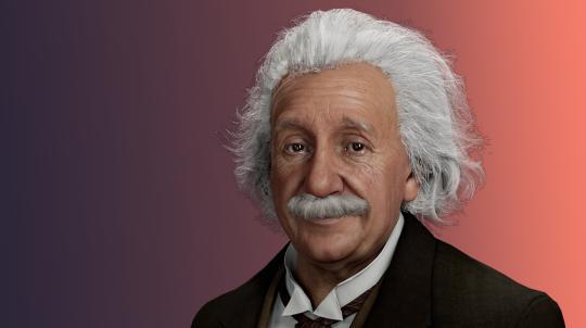 Albert Einstein as Digital Human